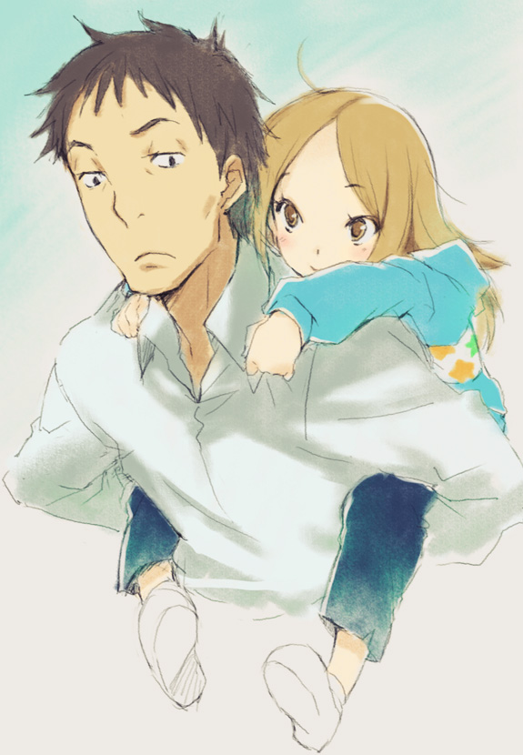 Daikichi and Rin, the protagonists