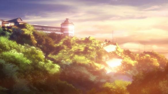 Sunset + Kissu Iso = wallpaper